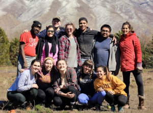 Students in Salt Lake City serving on a Refugee and Immigration Advocacy Trip.